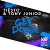 Tiësto & Tony Junior - Get Down artwork