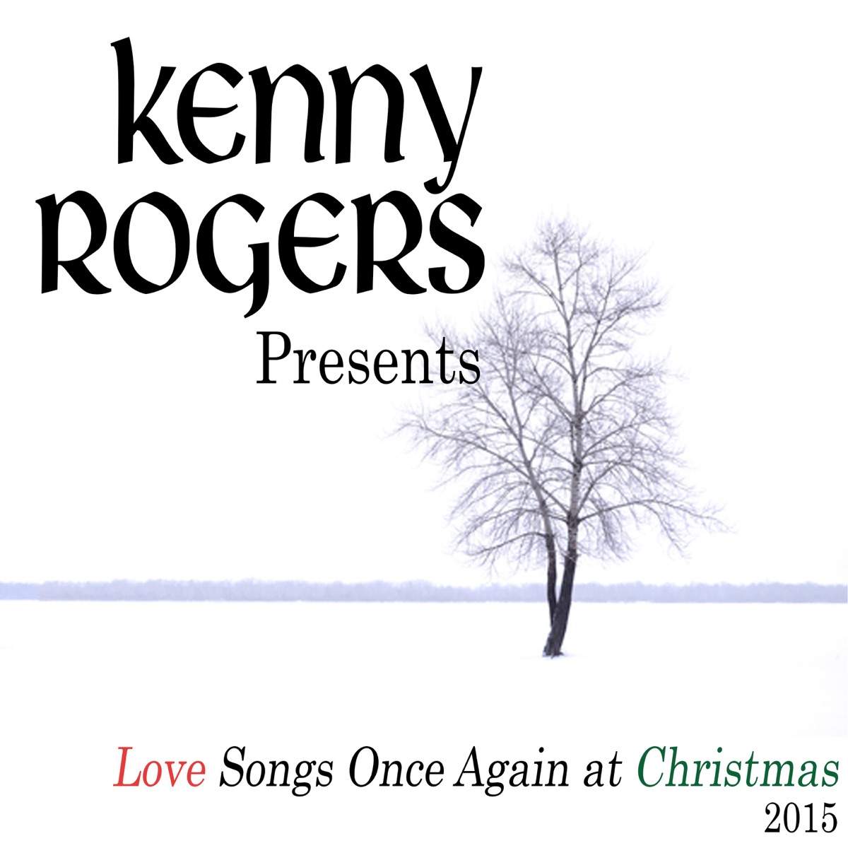 Kenny Rogers Presents Love Songs Once Again at Christmas Album Cover ...
