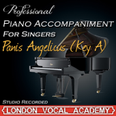 Panis Angelicus (Key A) ['Sacris Solemniis' Piano Accompaniment] [Professional Karaoke Backing Track]