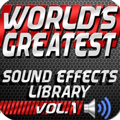 World's Greatest Sound Effects Library, Vol. 1