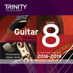 Trinity College London Guitar Grade 8 2016-2019