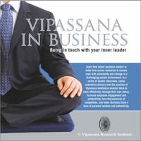 S. N. Goenka - Vipassana in Business - English artwork