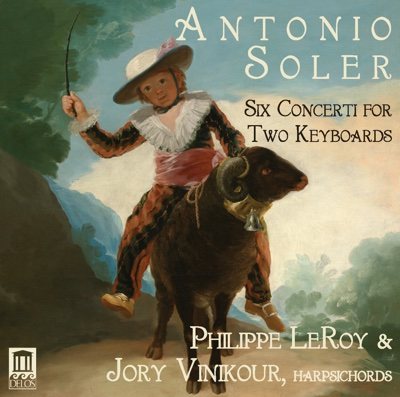 Soler: 6 Concerti for 2 Keyboards - Philippe Leroy & Jory Vinikour album