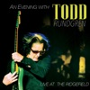 An Evening With Todd Rundgren: Live At the Ridgefield ジャケット写真