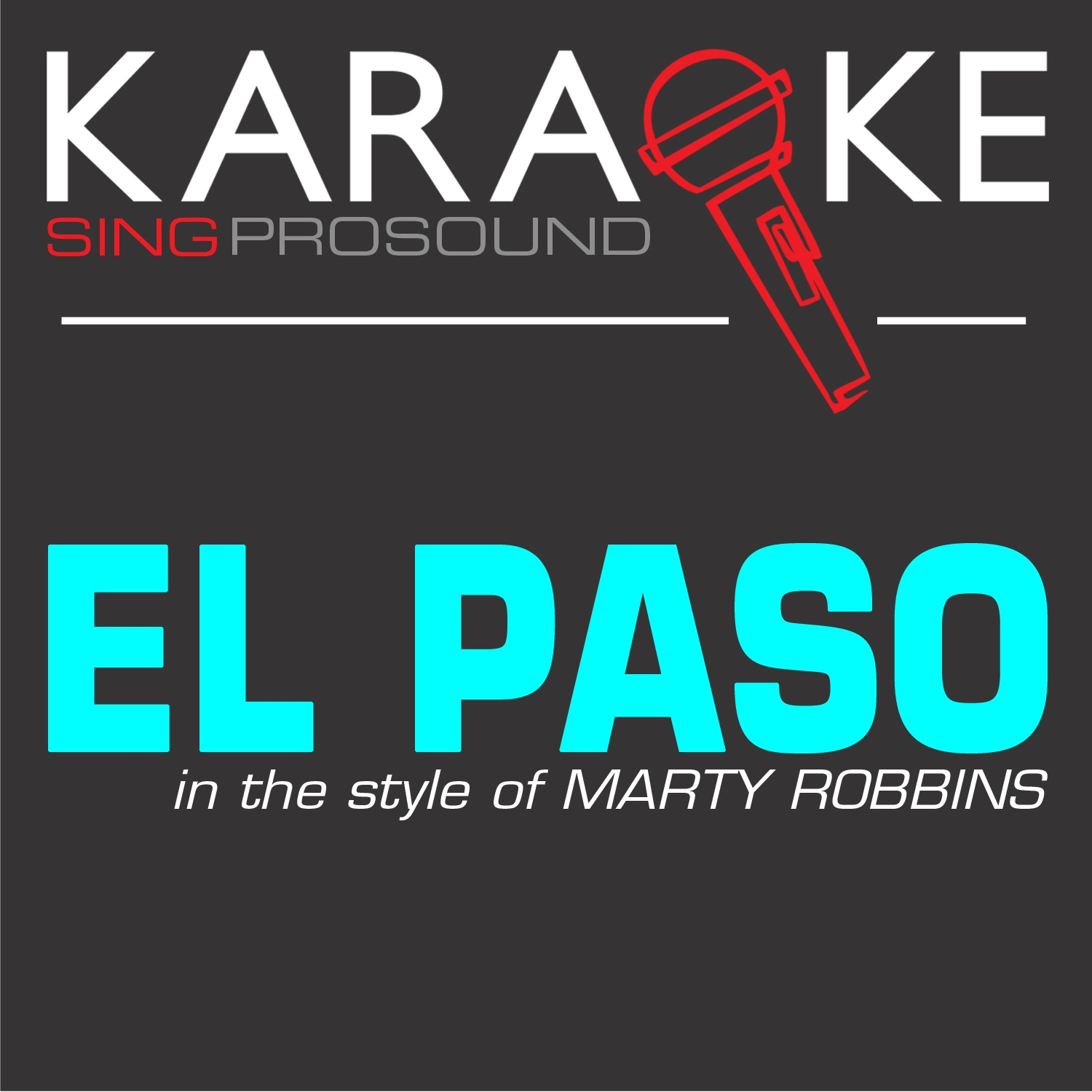 El Paso (In the Style of Marty Robbins) [Karaoke with Background Vocal] - Single