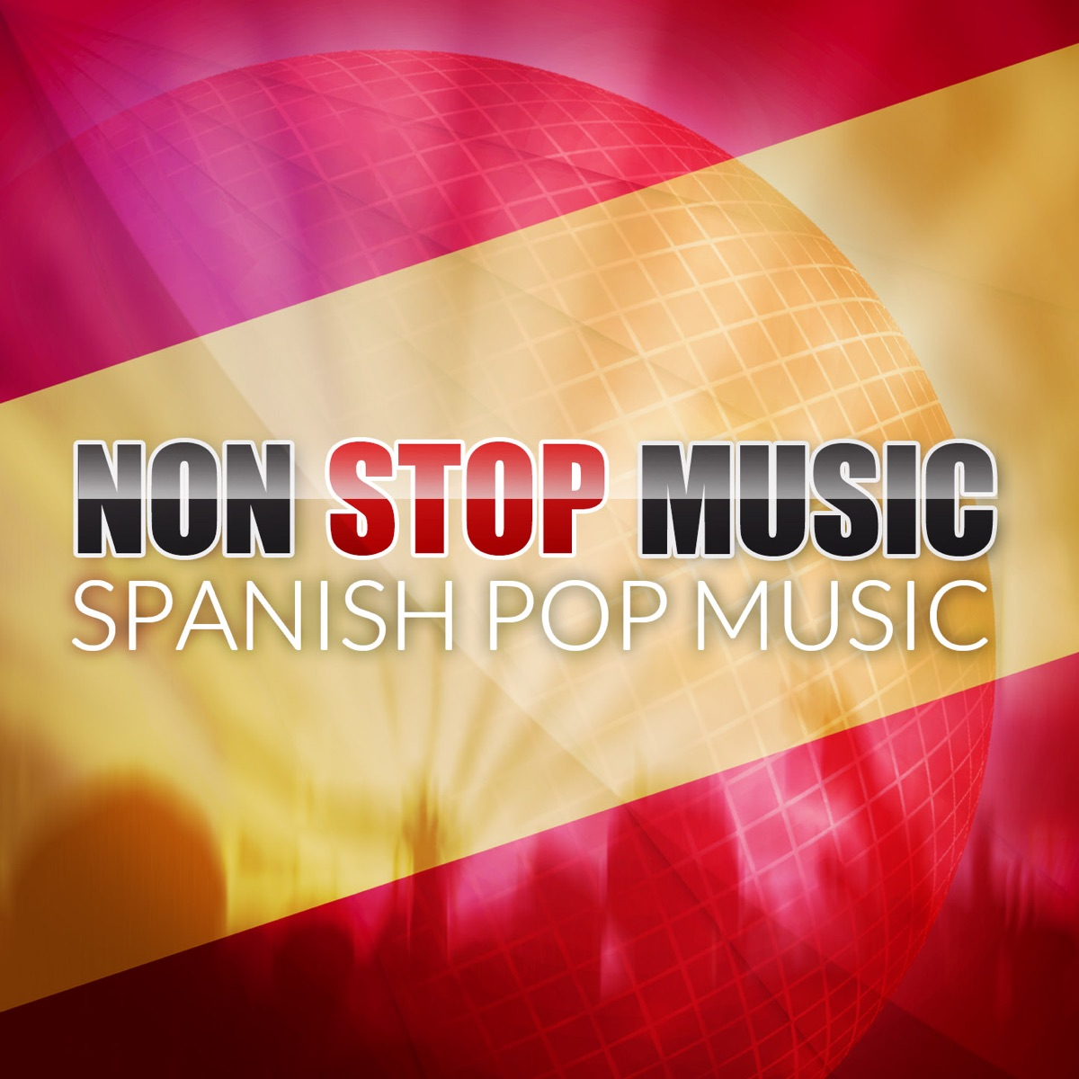Non Stop Music Album Cover by The Sunshine Orchestra