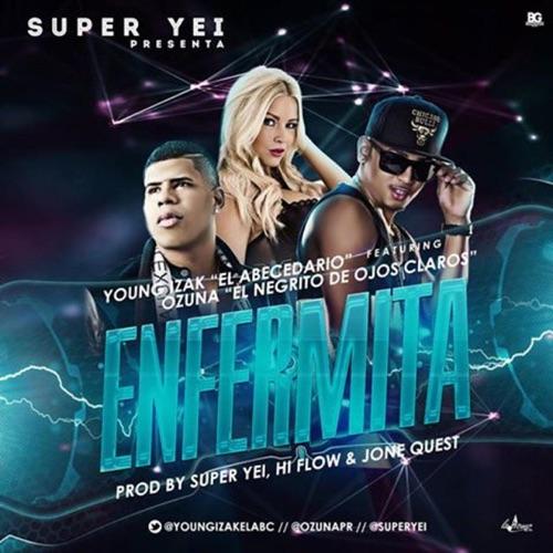 Young Izak - Enfermita (feat. Ozuna) - Single