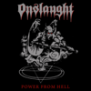 Onslaught - Power from Hell artwork