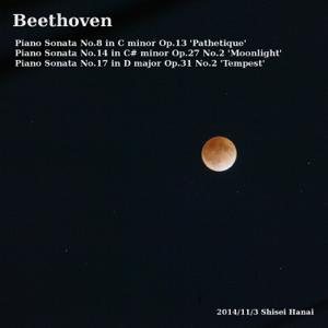 """Shisei Hanai - Piano Sonata No. 14 in C-Sharp Minor, Op. 27 No. 2 """"Moonlight"""": III. Presto agitato"""