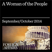 Michael Tomasky - A Woman of the People: Elizabeth Warren and the Future of the American Left (Unabridged) artwork