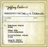 Prescription for Dating and Relationship - Jeffrey Rachmat