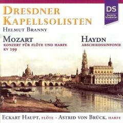 Mozart: Konzert für Flöte, Harfe und Orchester, K. 299 - Haydn: Abschiedssinfonie