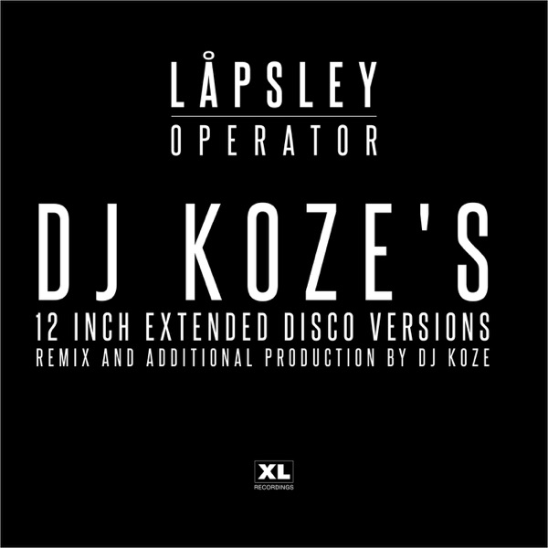 Operator (DJ Koze's 12 inch Extended Disco Versions) - EP