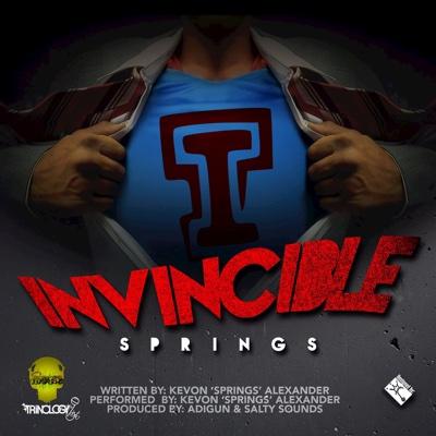 Invincible - Single - Springs album