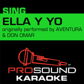 Ella y Yo (Originally performed by Aventura & Don Omar) [Instrumental Version]