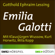 Gotthold Ephraim Lessing - Emilia Galotti