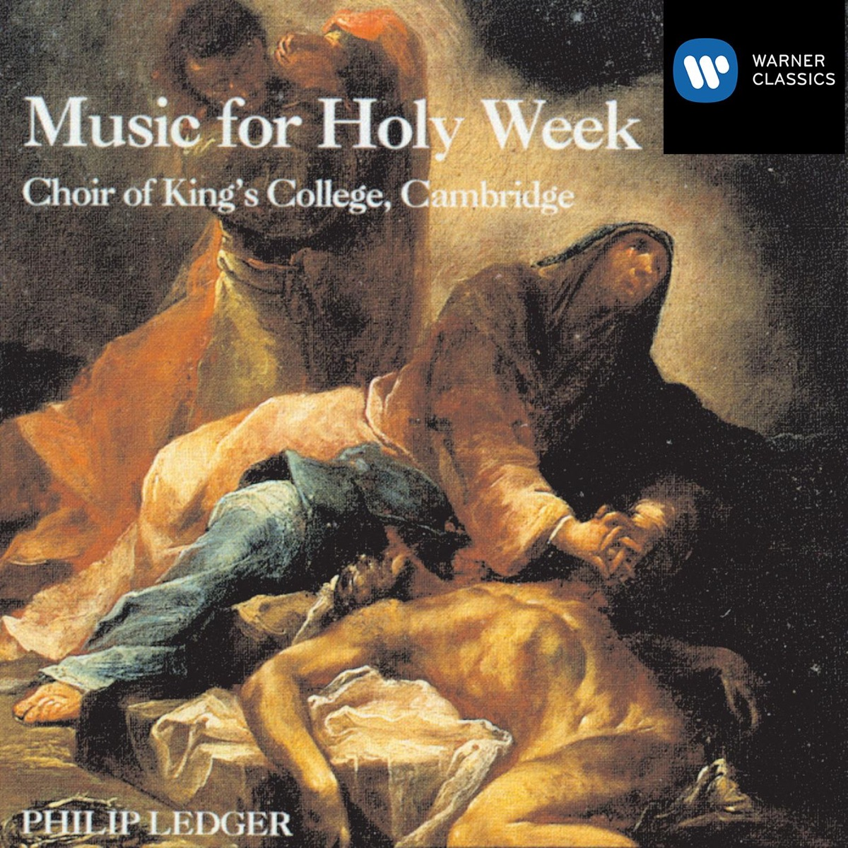 Music for Holy Week Choir of Kings College Cambridge  Sir Philip Ledger CD cover