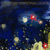 Coldplay - Christmas Lights kunstwerk