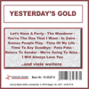 Yesterday's Gold - Various Artists