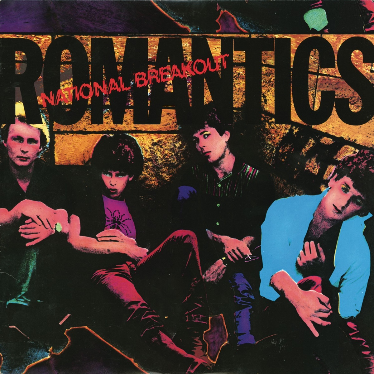 National Breakout The Romantics CD cover