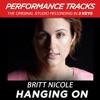Hanging On (Performance Tracks) - EP, Britt Nicole