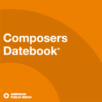 Podcast cover art of Composers Datebook