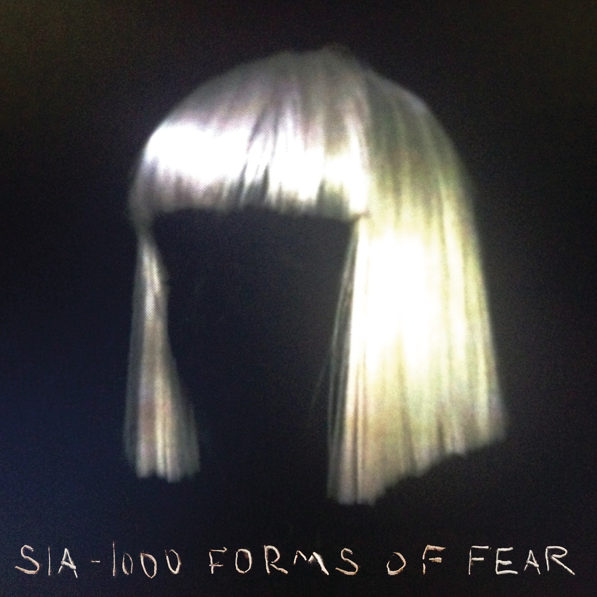 1000 Forms of Fear Sia CD cover