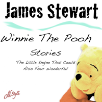 James Stewart - The Little Engine That Could Also Four Wonderful (Winnie The Pooh Stories) artwork
