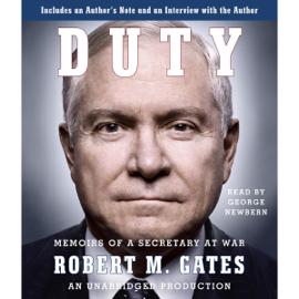 Duty: Memoirs of a Secretary at War (Unabridged) audiobook