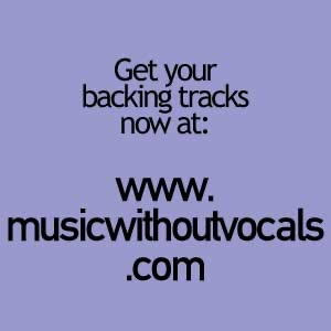 Music Without Vocals backing track podcast