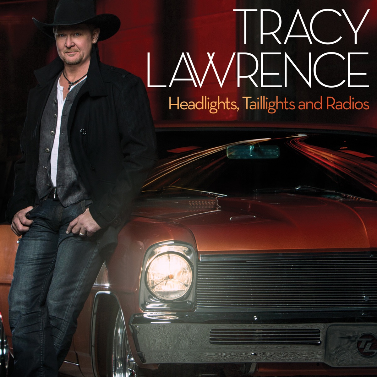 Headlights Taillights and Radios Tracy Lawrence CD cover