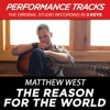 The Reason for the World (Performance Tracks) - EP, Matthew West