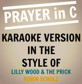 Prayer In C (Originally Performed By Lily Wood & the Prick - Robin Schulz Remix) [Karaoke Backing Track]