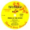 Fresh Is the Word - Single, M.C. Tee & Mantronix