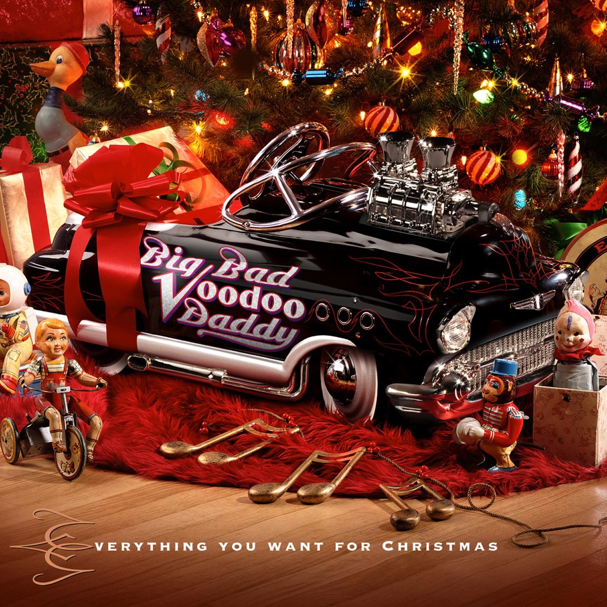 Everything You Want For Christmas Album Cover By Big Bad