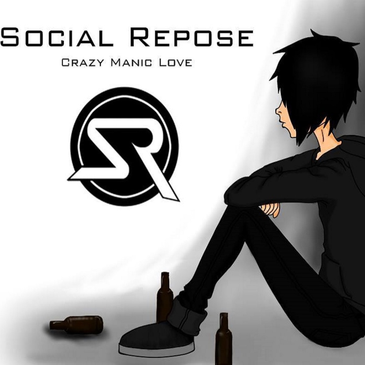 Crazy Manic Love - EP Social Repose CD cover