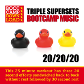 20 / 20 / 20 HIIT Triple Superset Workout Circuit Training Bootcamp Music (PPL & PRS License Free Music)