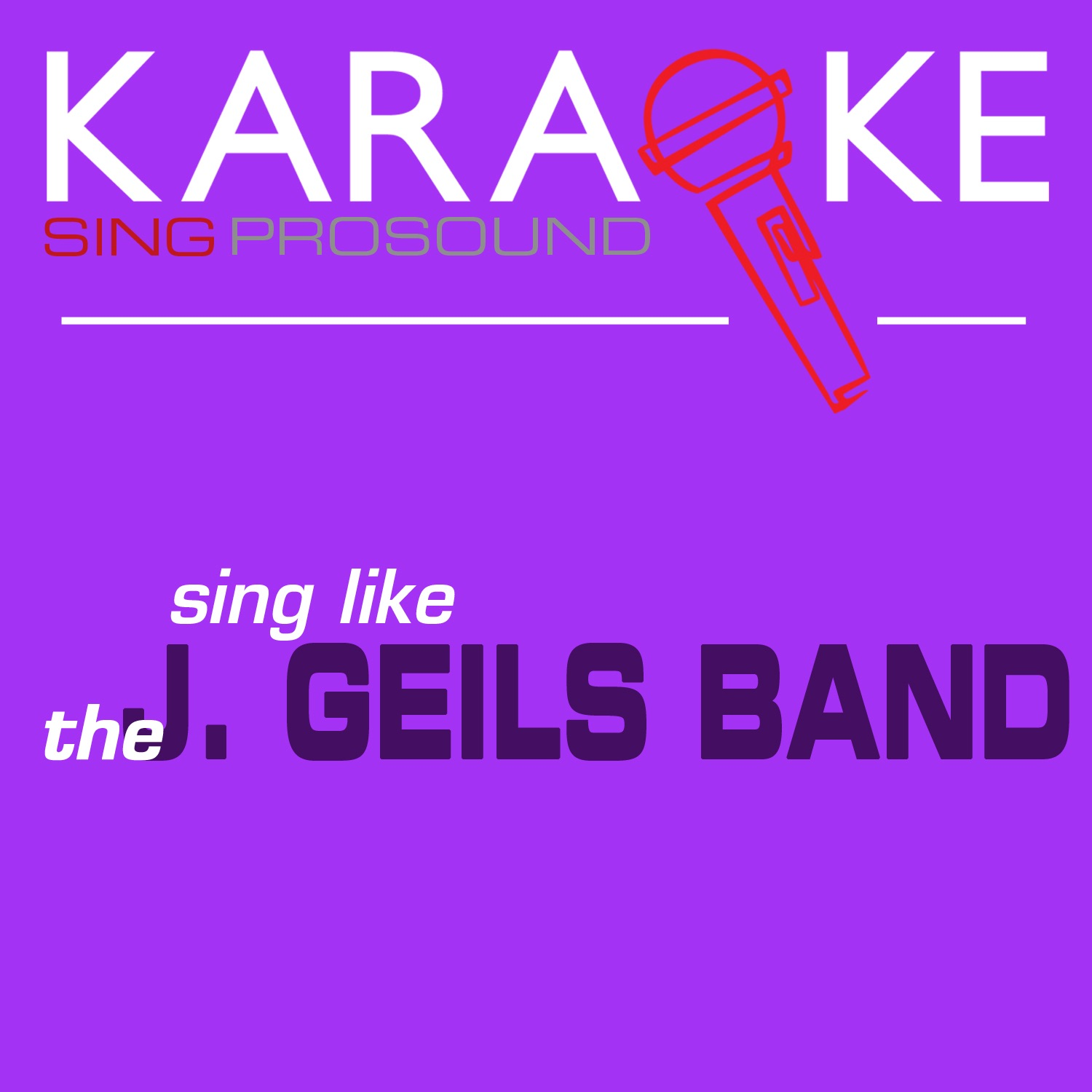 Karaoke in the Style of the J. Geils Band - Single