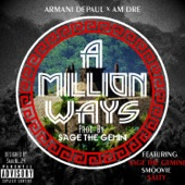 A Million Ways (feat. Sage the Gemini, Smoovie & Salty) - Single