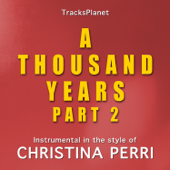 A Thousand Years Part 2 (in the style of Christina Perri) [Karaoke Instrumental Version]