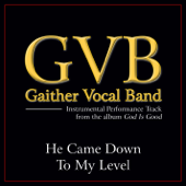 He Came Down to My Level (Performance Tracks) - EP
