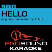 Hello Originally Performed By Adele [Instrumental Version] ProSound Karaoke Band - ProSound Karaoke Band