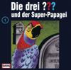 Die drei ??? - Folge 1: und der Super-Papagei artwork