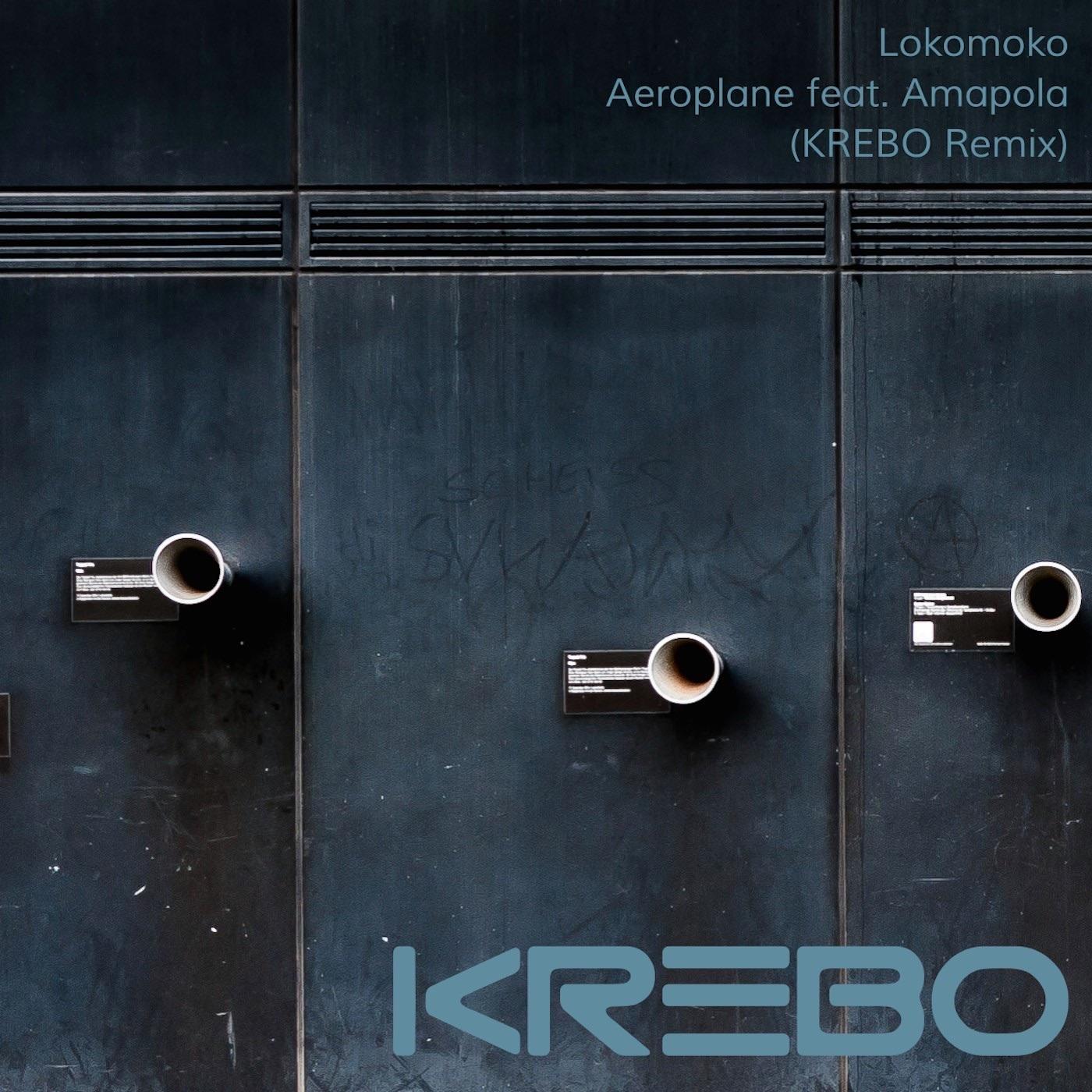 Aeroplane (KREBO Remix) [feat. Amapola]