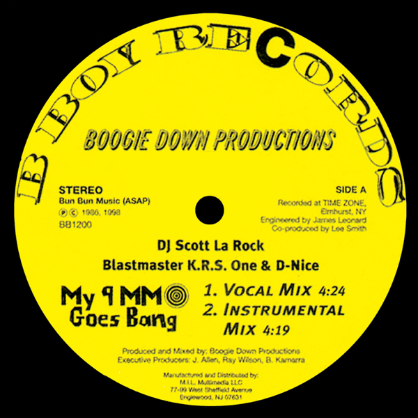 ‎Boogie Down Productions - My 9mm Goes Bang / Criminal Minded by Boogie  Down Productions on iTunes