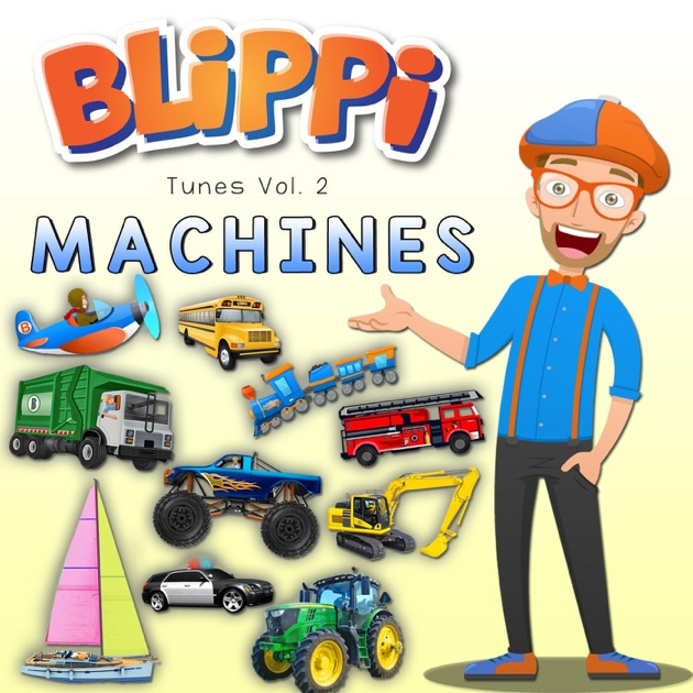 blippi tunes  vol 2 machines  music for toddlers  by clipart für mac pages Mac and Cheese Clip Art