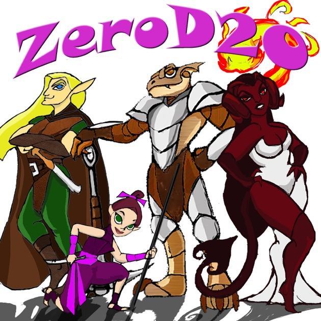 ZeroD20 Fracturia - Dungeons & Dragons 5E Actual Play by