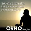 Osho - How Can Meditation Solve Life Problems or Prevent Wars artwork