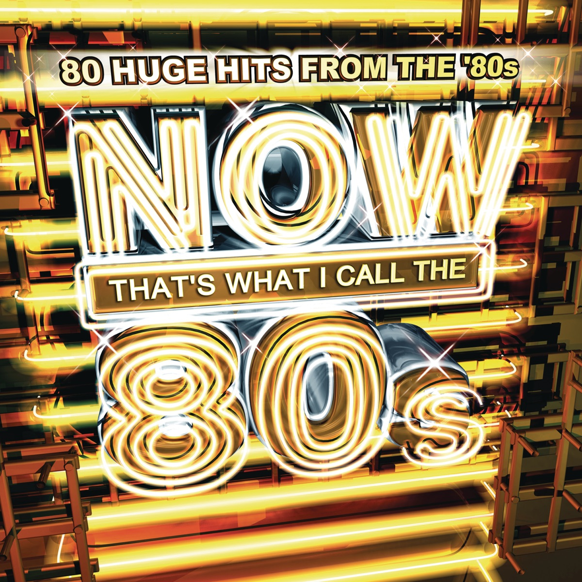 Now Thats What I Call the 80s Various Artists CD cover