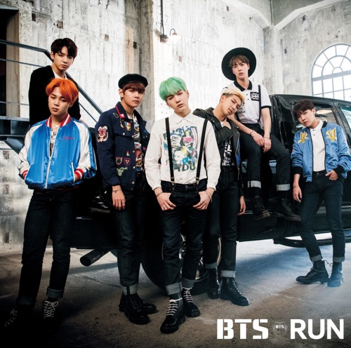 BTS - RUN‐Japanese Ver.‐【通常盤】 - Single